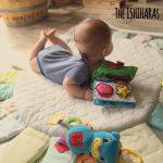 赤ちゃん用お昼寝マットをリメイクしてサニーマット風に