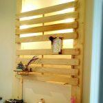 友人からのアイディア!ディアウォール活用術2x4木材とすのこで壁掛け!