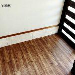 発砲スチロールで作るレンガ壁。お部屋の印象が変わる!