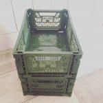 ダイソーで見つけた優れ物。洗面台下収納ボックスとランチョンマット