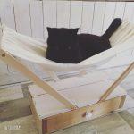 猫のハンモックをDIY。猫と暮らすインテリア