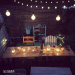 【庭作り】カフェ風庭で食事を楽しむ!